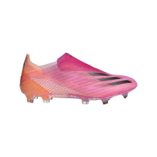 adidas X Ghosted+ Firm Ground - Pink/Core Black/Orange