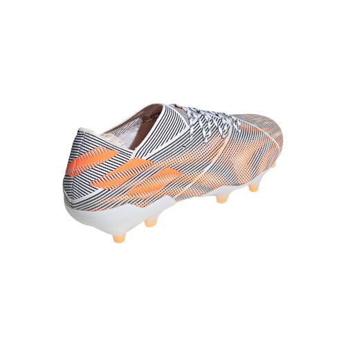 adidas Nemeziz .1 Firm Ground Boots - White/Orange/Core Black