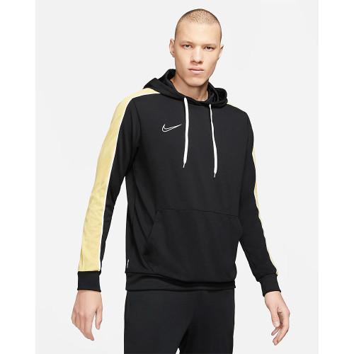 Nike Dri-Fit Academy Hoodie - Black/Saturn Gold/White