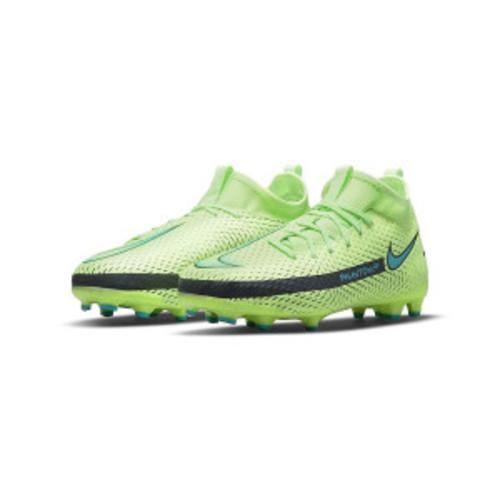 Nike Jr. Phantom GT Academy Dynamic Fit MG - Lime Glow/Aquamarine
