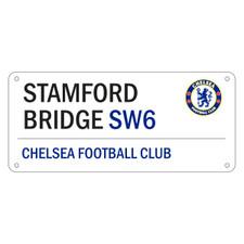 Chelsea - White Street Sign