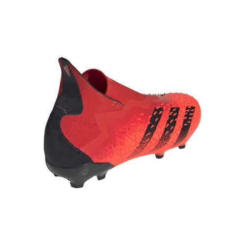 adidas Predator Freak + Firm Ground J - Red/Black/Red