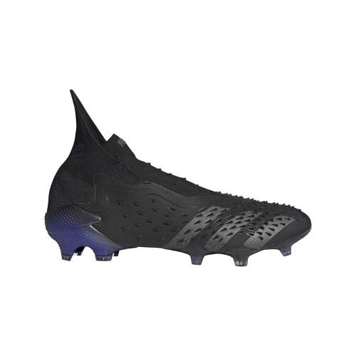 adidas Predator Freak + Firm Ground - Black/Grey/Sonink