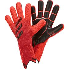 adidas Predator Goalkeeper Gloves Pro - Red/Red/Black