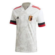 20/21 Belgium Away Jersey - White