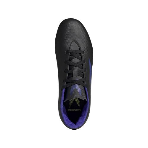 adidas X Speedflow .4 FxG Jr - Black/SONINK/Yellow