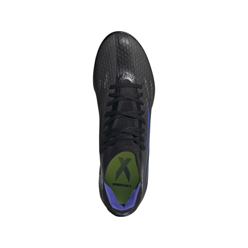 adidas X Speedflow .3 TF - Black/SONINK/Yellow