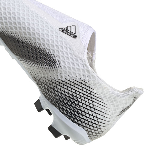 adidas X Ghosted .3 LL Firm Ground JR - White/Black/White