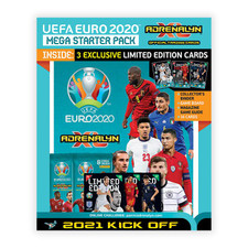 2020-21 Panini Adrenalyn Euro Kick-Off Cards Starter Pack (18 Cards + 3 LE Cards)