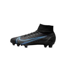 Nike Mercurial Superfly 8 Pro FG - BLACK/BLACK-IRON GREY