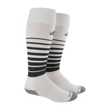 adidas Team Speed Soccer Sock - White/Black - S - 18 Pairs