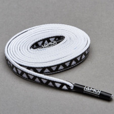 AMO Peformance Grip Lace - White/Black