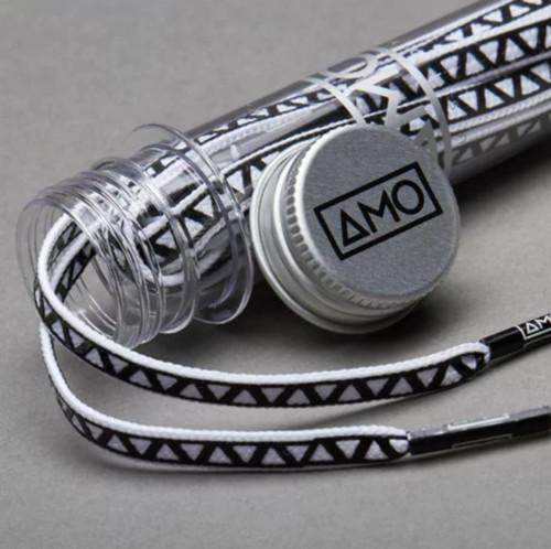 AMO Peformance Grip Lace - White/Black