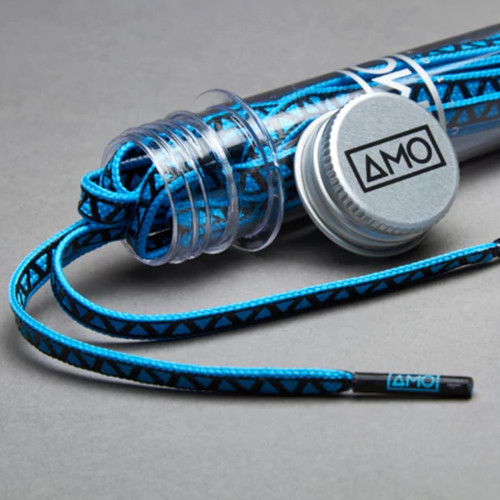 AMO Peformance Grip Lace - Tropical Blue/Black