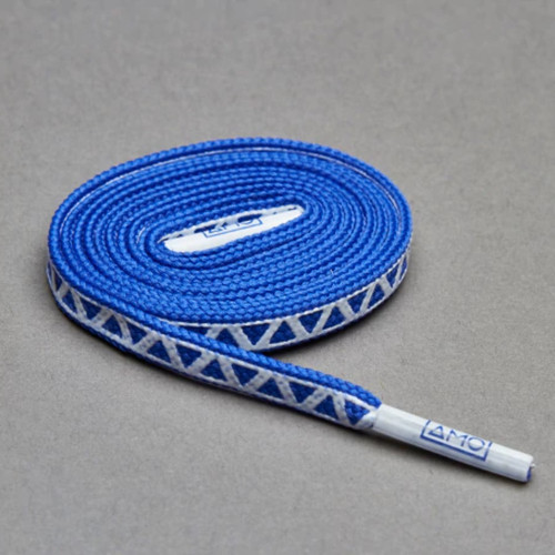AMO Peformance Grip Lace - Dazzling Blue/White
