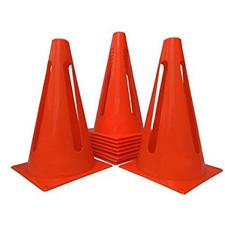 """Cone-15"""" Set of 10"""
