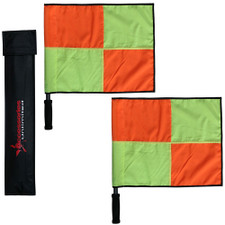 Elite Linesmans 2 Flags w/ Bag