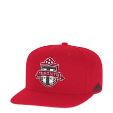 adidas Toronto FC Flat Brim Snapback