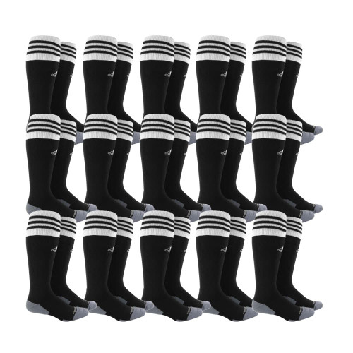 adidas Copa Zone Cushion II Sock - Black/White - S - 18 Pairs