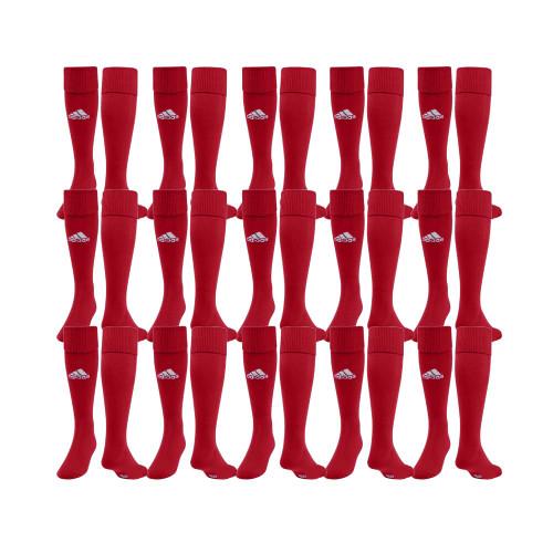 adidas Field Sock II - Univ Red/White - S - 18 Pairs