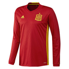 adidas Spain Home LS Jersey