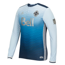 adidas Whitecaps Authentic 2016 Away Jersey LS