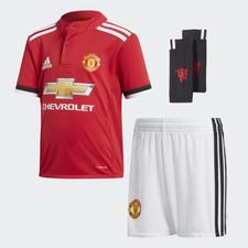 adidas 17/18 Manchester United Home MiniKit