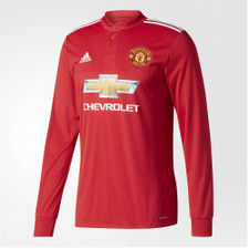 adidas 17/18 Manchester United Home Jsy LS