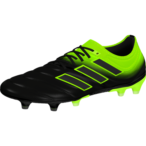 adidas Copa 19.1 Firm Ground Boots - Black/Yellow