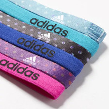adidas Fighter Graphic 6PK Hairbands - Multi Colored
