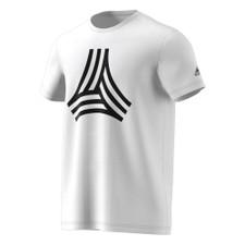 Adidas Tango Cage Graphic Tee (White)