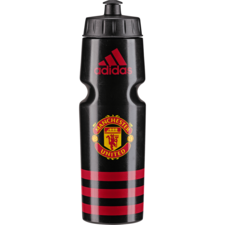 adidas Manchester United Bottle 750 mL - Black/Red