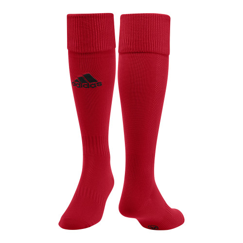 adidas Santos 12 Sock - University Red/Black - L - 18 Pairs