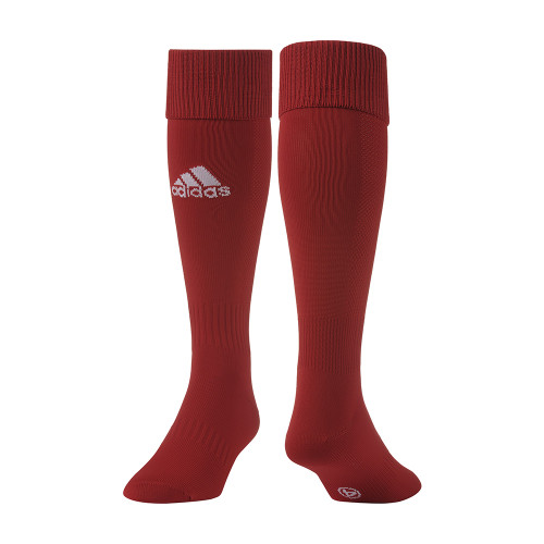 adidas Santos 12 Sock - University Red/White - L - 18 Pairs