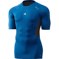 adidas Tech Prep Compression Top Short Sleeve