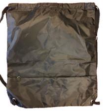 Sackpack with Zipper Pocket - Black