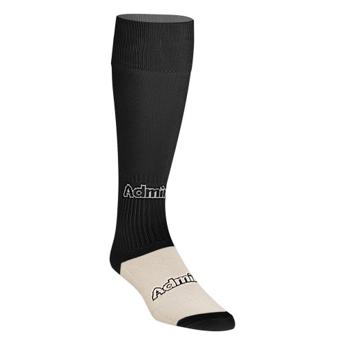 Admiral Tourney Sock - Black/White - Adult - 18 Pairs
