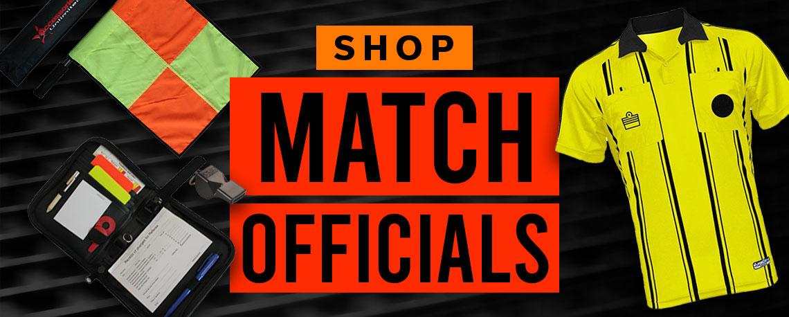 Shop Match Officials