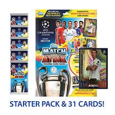 Topps 17/18 Match Attax Champions League - 9 pack