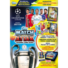 Topps 17/18 Match Attax Champions League Cards - StarterPack