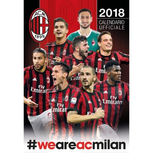 Calendario Bayern.Ac Milan 2018 Calendar Italian Edition