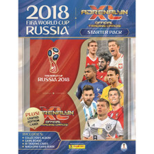 FIFA World Cup 2018 Adrenalyn Starter-Pack Album + 18 Cards
