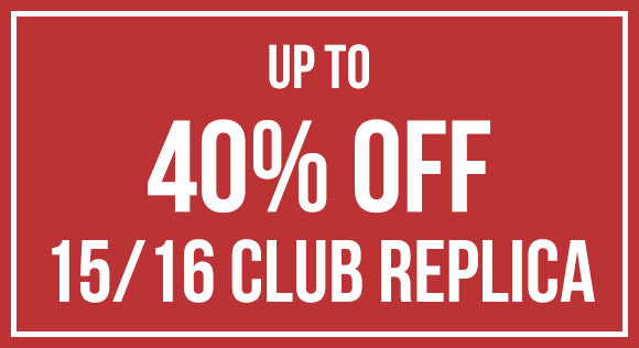 15/16 Replica up to 40% off