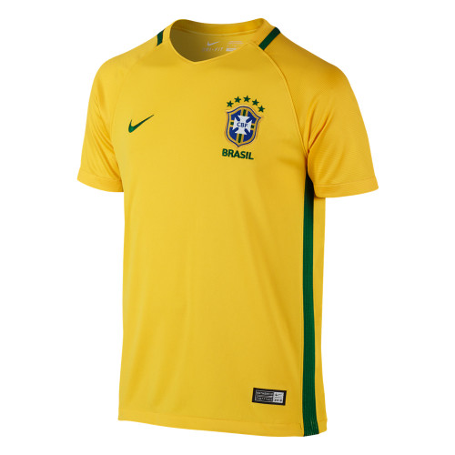 Nike Brazil 2016 Home Stadium Jsy Y