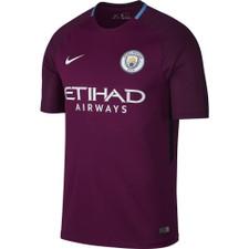 Nike Breathe Manchester City FC Stadium Away 17/18 Jersey