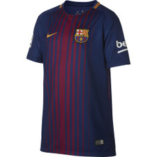 Nike FCB BRT Stadium Jersey SS Youth