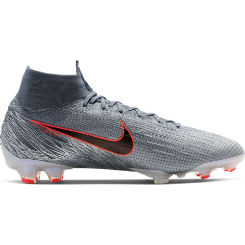 Nike Superfly 6 Elite Firm Ground Boots - Grey/Black/Blue