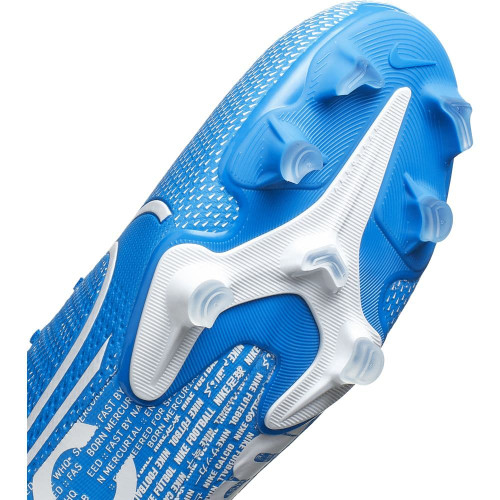 Nike Superfly 7 Academy Firm Ground Boots - Blue/White