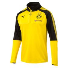 Puma BVB Borussia Dortmund 1/4 Training Top w/ Sponsor
