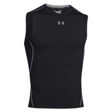 Under Armour Compression Heatgear SL Top - Black